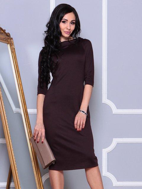 Платье антрацитового цвета Laura Bettini 4022480