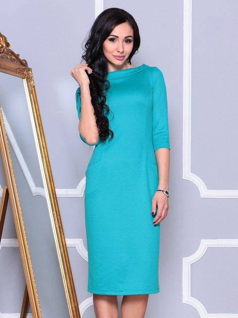 Платье светло-бирюзовое Laura Bettini 4022481