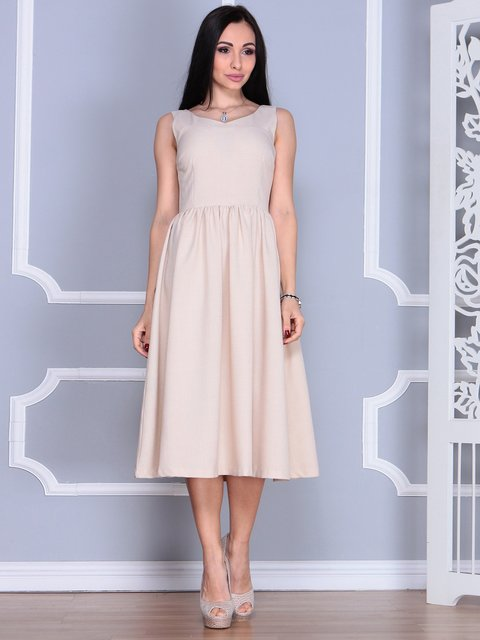 Сукня бежева Laura Bettini 4022488