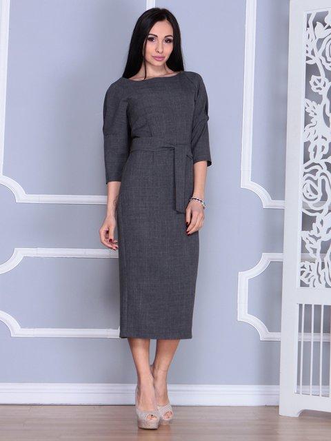 Платье графитового цвета Laura Bettini 4022496