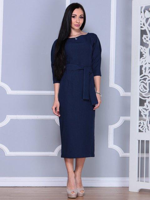 Сукня темно-синя Laura Bettini 4022497