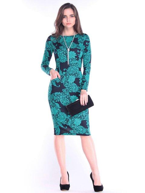 Сукня в принт Rebecca Tatti 2996613