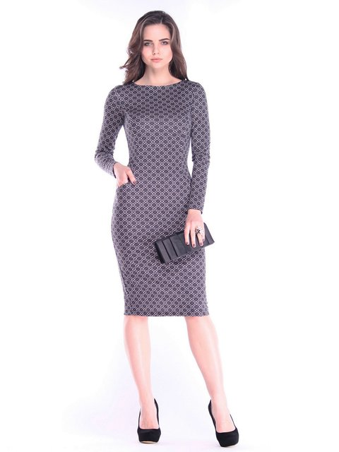 Сукня в принт Rebecca Tatti 2996628