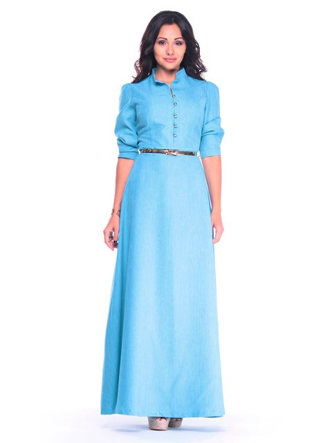 Платье ментоловое Rebecca Tatti 4022503