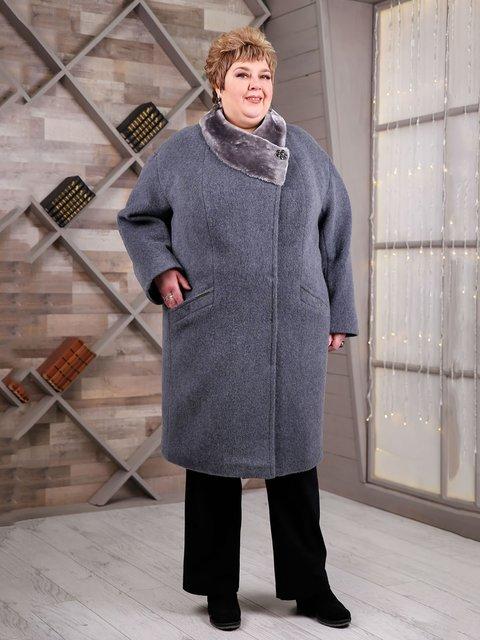 Пальто сіре Favoritti 4052262
