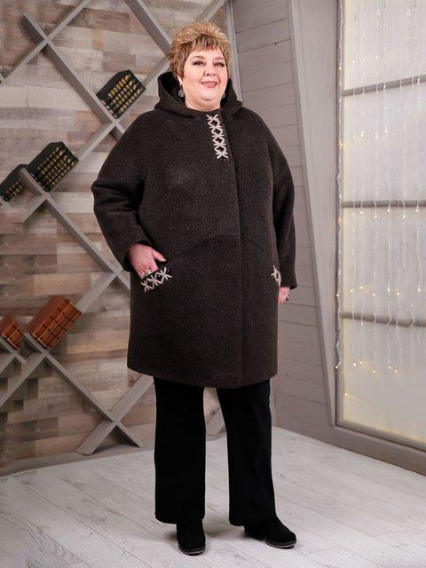 Пальто коричневое Favoritti 4052267
