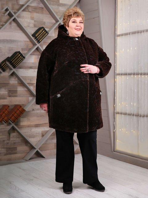 Пальто коричневое Favoritti 4052269