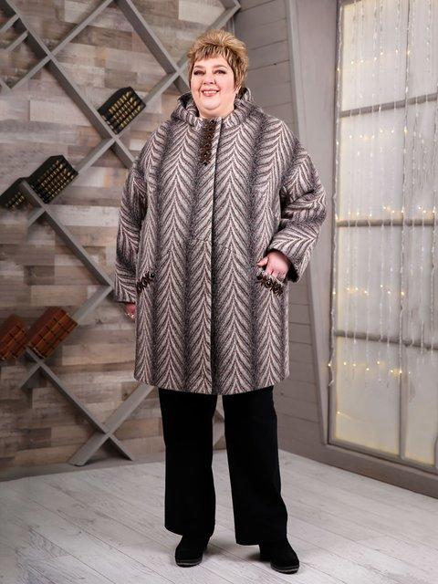 Пальто серое Favoritti 4052270