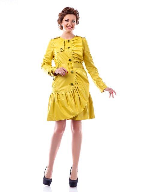 Плащ желтый Favoritti 4052301