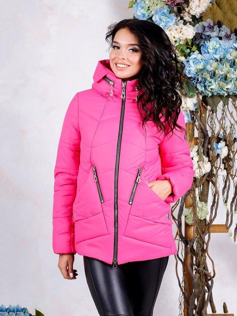 Куртка малинового цвета Favoritti 4052361