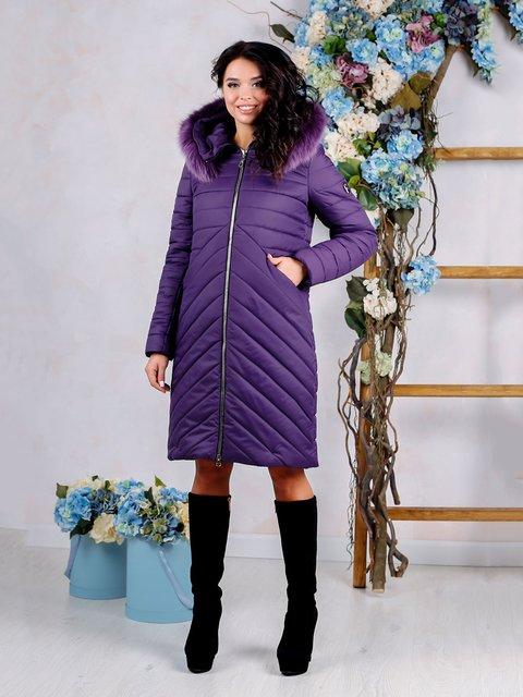 Пуховик фиолетовый Favoritti 4052368
