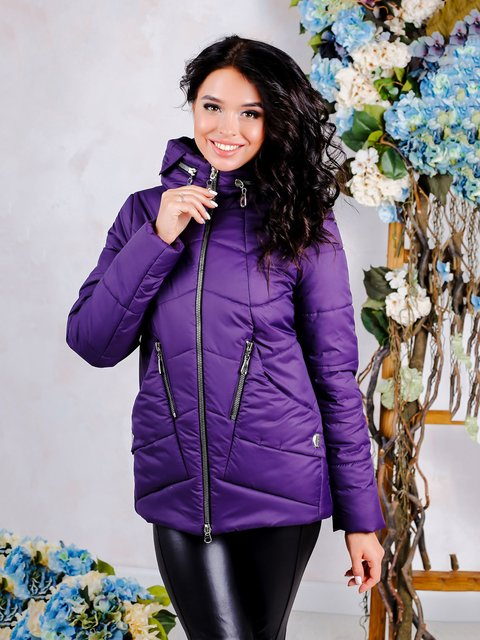 Куртка фиолетовая Favoritti 4052390