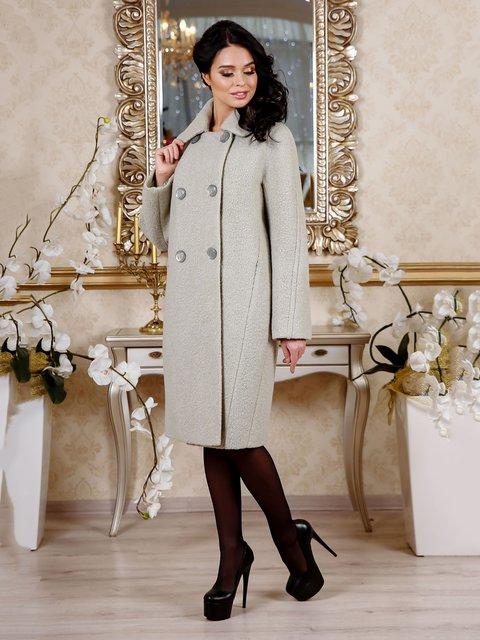 Пальто блідо-зелене Favoritti 4052404