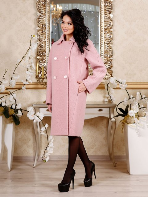 Пальто рожеве Favoritti 4052407