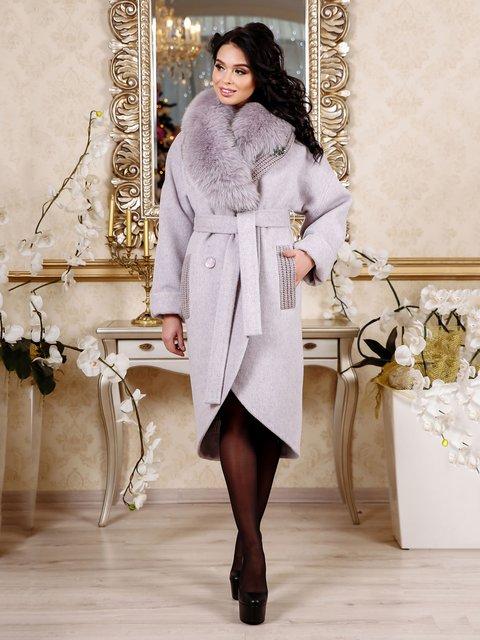 Пальто сиреневое Favoritti 4052435