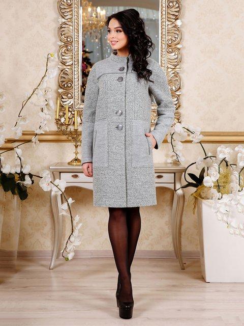 Пальто сіре Favoritti 4052437