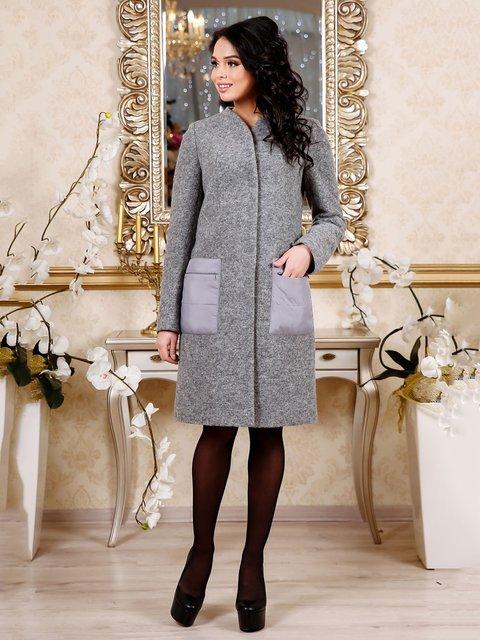 Пальто сіре Favoritti 4052443