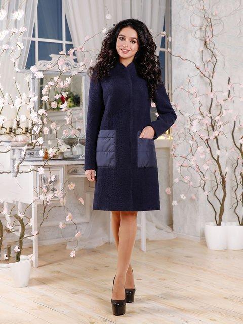 Пальто синее Favoritti 4052462