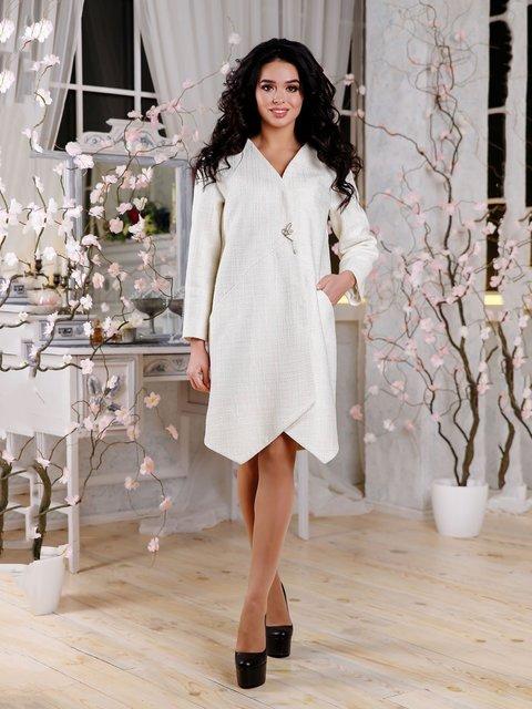 Пальто біле Favoritti 4052473
