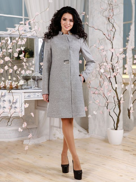 Пальто серое Favoritti 4052489