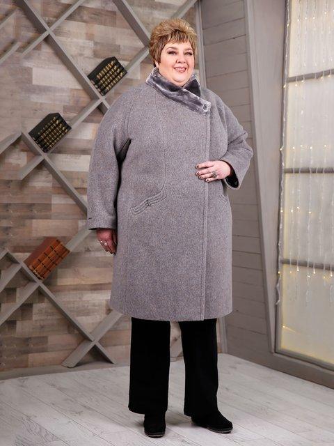 Пальто сіре Favoritti 4052497