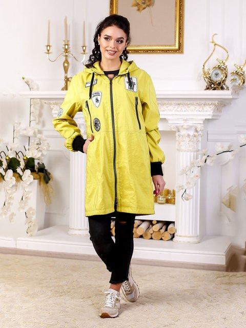 Куртка желтая Favoritti 4052502