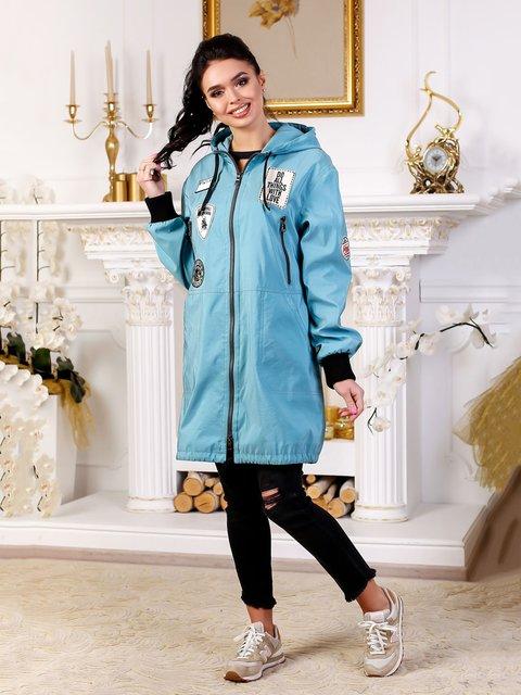 Куртка бледно-бирюзовая Favoritti 4052503