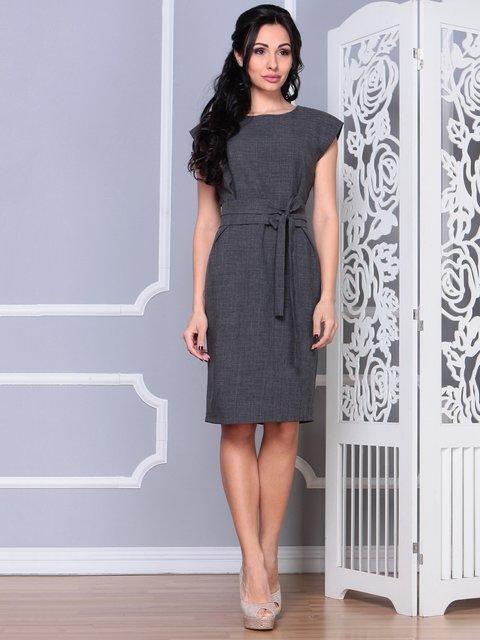 Платье графитового цвета Laura Bettini 4028053