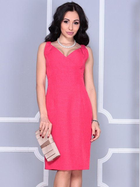 Платье-сарафан красное Dioni 4028111