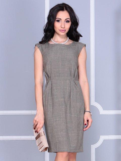 Сукня кольору бежевий хакі Maurini 4028122