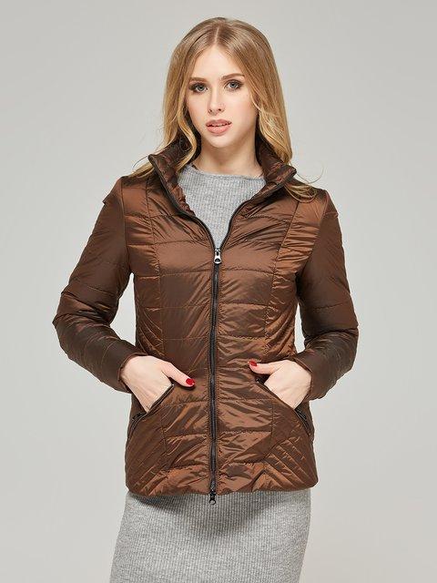 Куртка шоколадного кольору Mila Nova 4052173