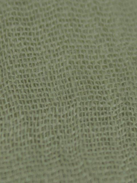 Палантин зеленый De esse 4054397