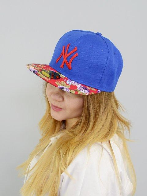 Бейсболка синяя с надписью Fashion Look 3298353