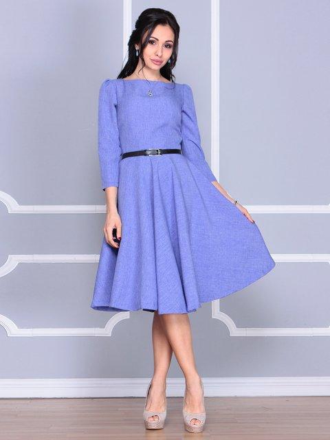 Сукня бузково-блакитна Laura Bettini 4058094