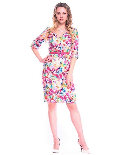 Платье в цветочный принт Victoria Loks 4058118
