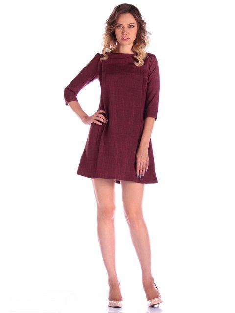 Платье бордовое Victoria Loks 4058125