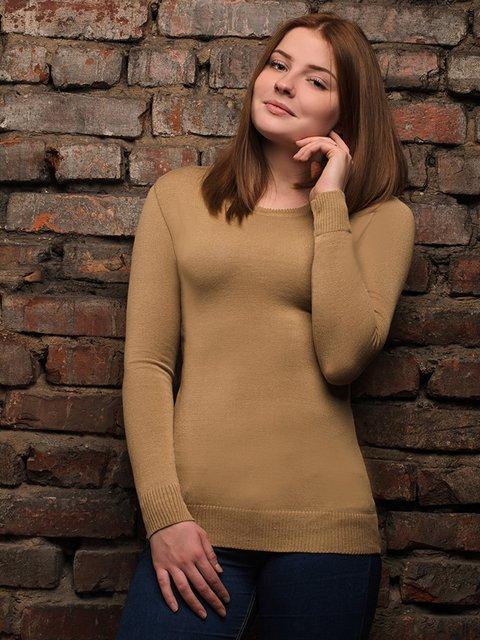 Джемпер светло-коричневый G-Rom 4050502