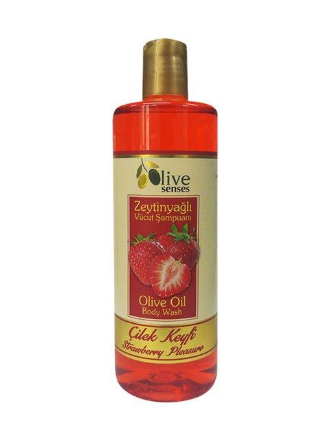 Гель для душу з оливковою олією «Полуниця» для щоденного використання (500 мл) Selesta Life 4058931