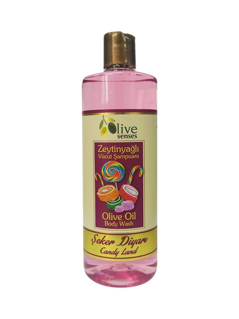 Гель для душу з оливковою олією «Карамель» для щоденного використання (500 мл) Selesta Life 4058934