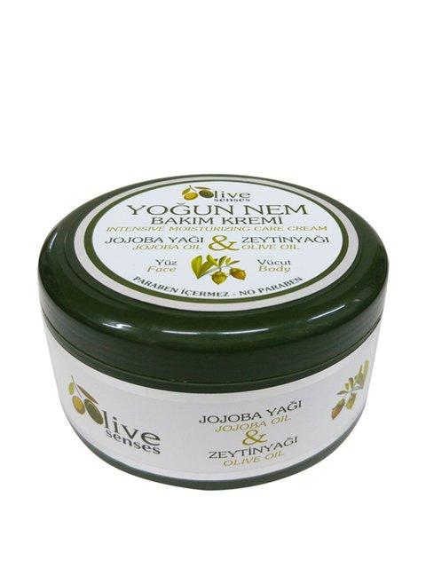 Крем для інтенсивного догляду за обличчям і тілом з оливковою і жожоба оліями (300 мл) Selesta Life 4058937
