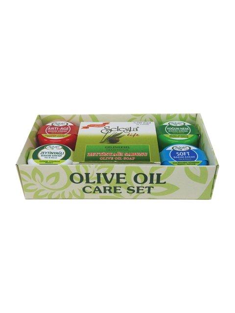 Набір для догляду за тілом з оливковою олією Selesta Life 4058995