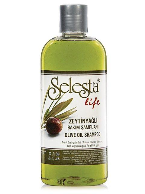 Шампунь «Интенсивный уход» с оливковым маслом (400 мл) Selesta Life 4059003