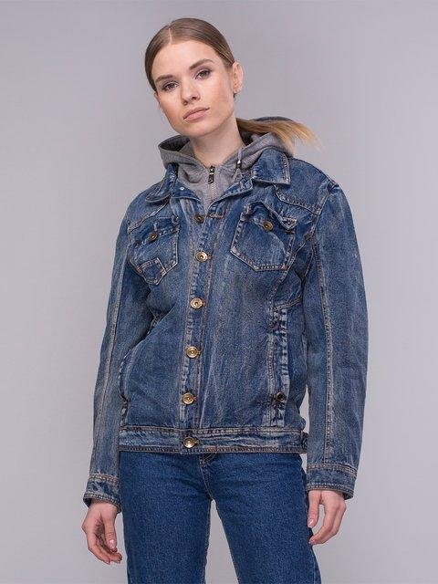 Куртка синя джинсова Qihailong 4031114