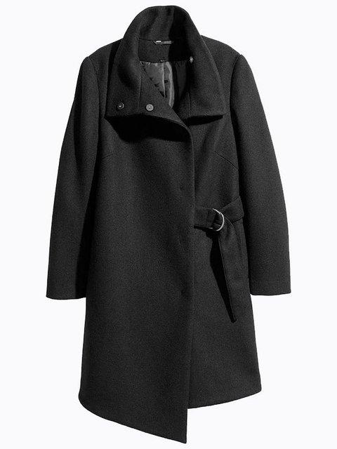 Пальто чорне Maxmore 4063860