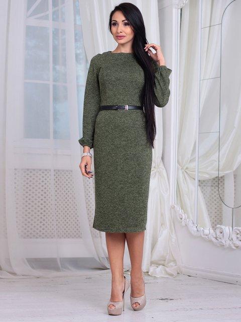 Платье цвета хаки Laura Bettini 4064993