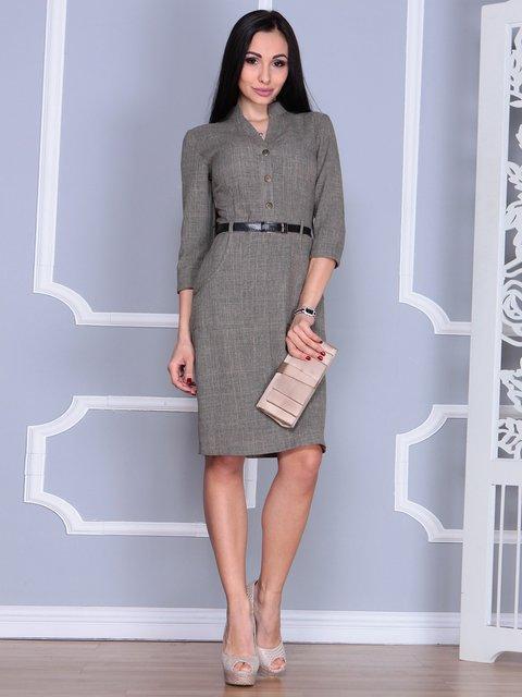 Сукня кольору бежевий хакі Laura Bettini 4064996