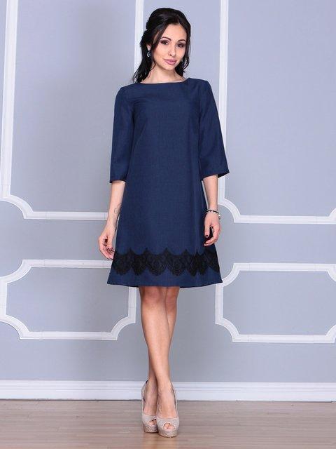 Сукня темно-синя Laura Bettini 4065000