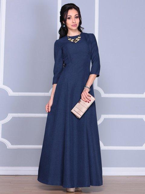 Сукня темно-синя Laura Bettini 4065003