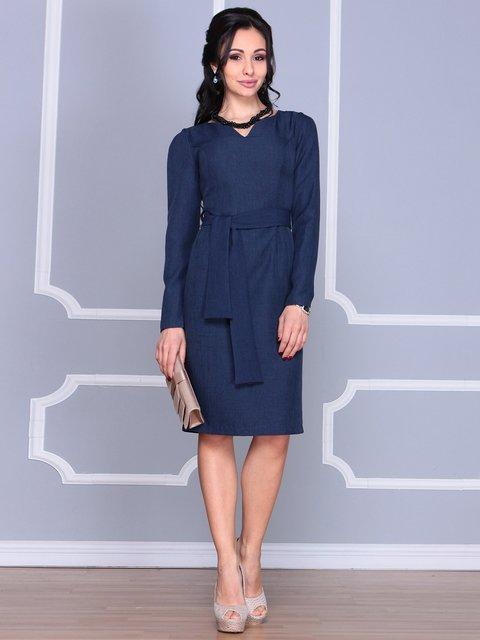 Сукня темно-синя Laura Bettini 4065026