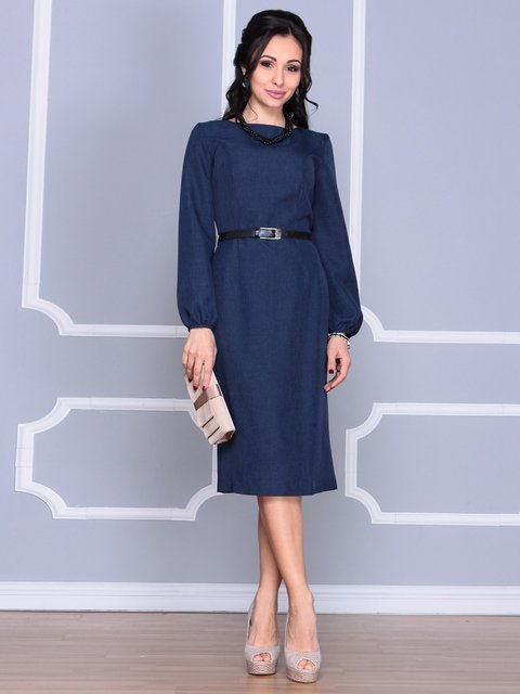 Сукня темно-синя Laura Bettini 4065027
